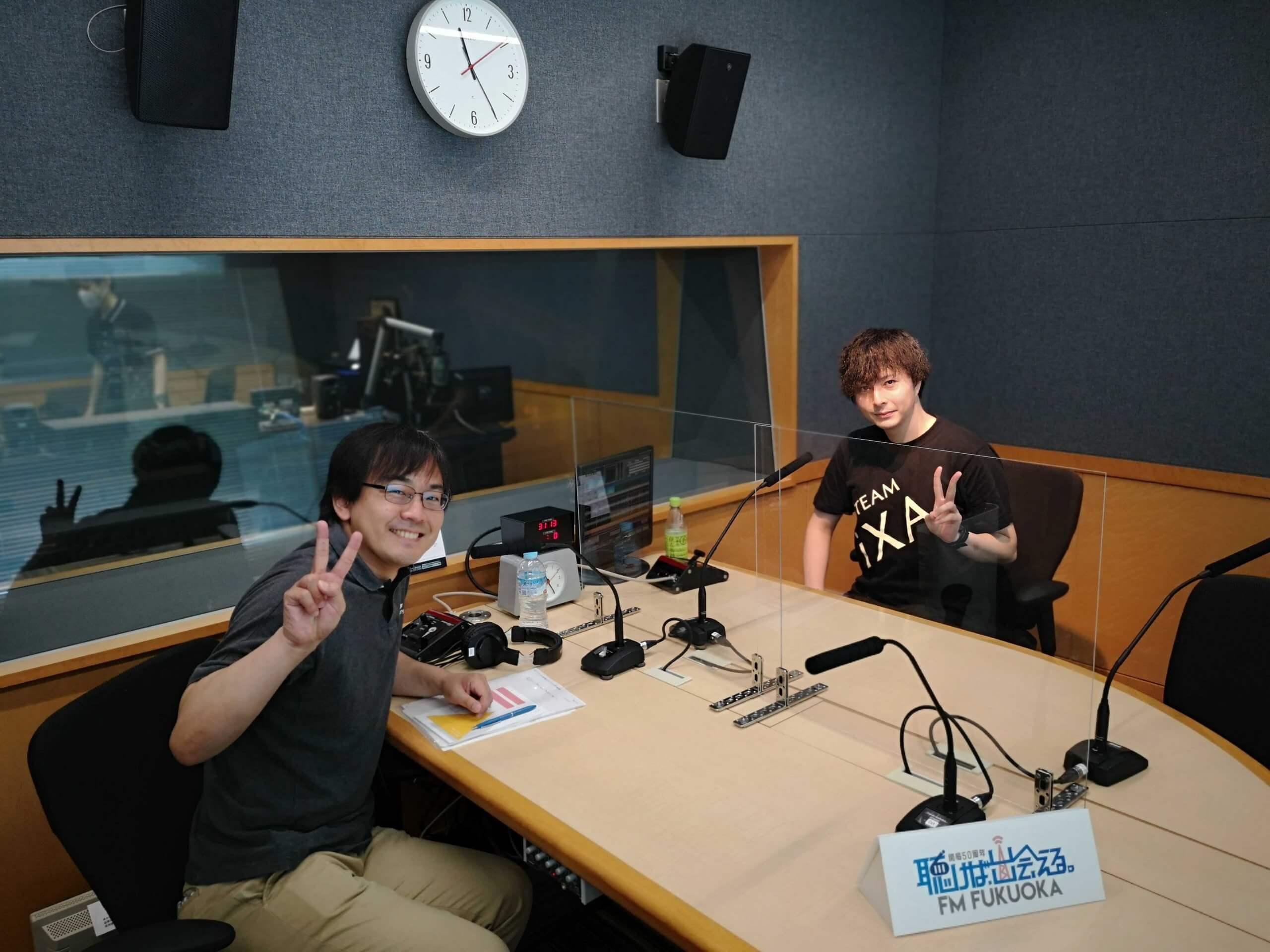 FM FUKUOKA 「Have Fun!! e-sports」に「TEAM iXA」のじゃじい選手が出演しました!