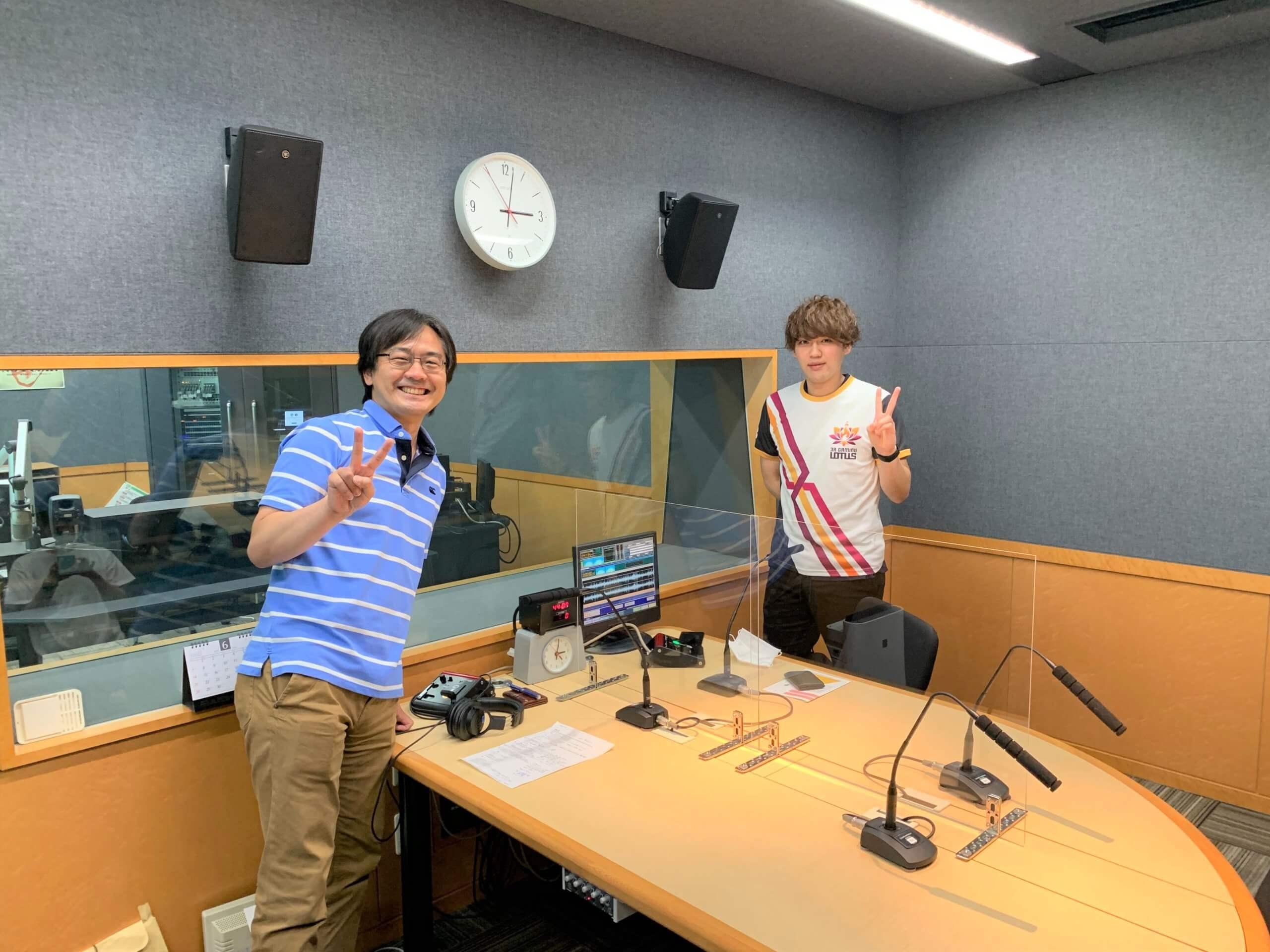 FM FUKUOKA 「Have Fun!! e-sports」に「3R gaming Lotus」のSizukuuu(しずく)選手が出演しました!